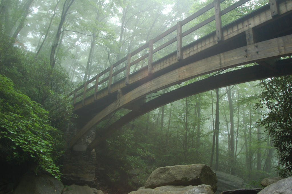 Boone Fork Bridge by  Joe Giordano