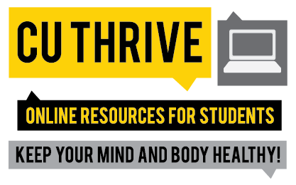 C U Thrive - Online Resources for Students