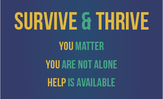 Survive and Thrive - Suicide Prevention: Information and Training